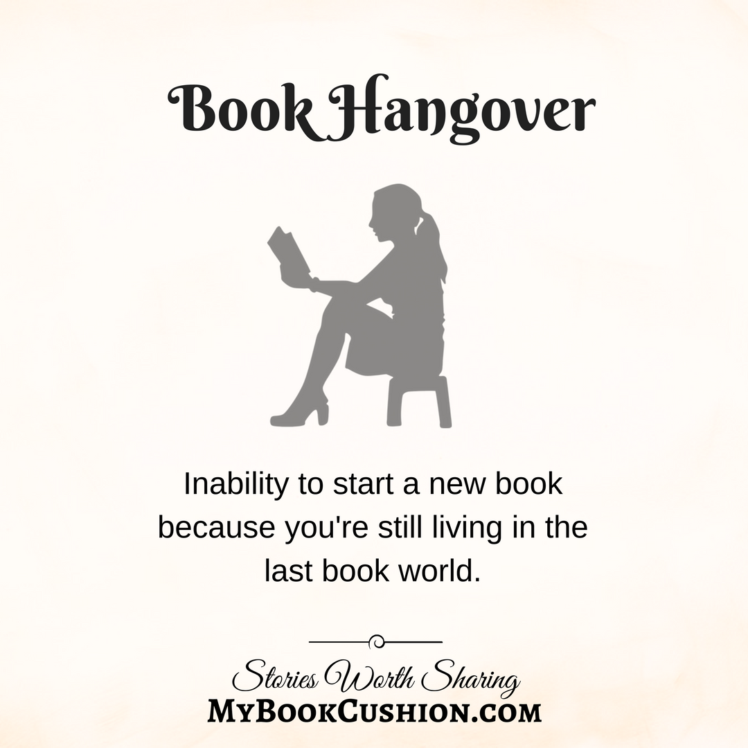 Book hangover inability to start a new book because youre still living in the last book world